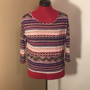 EUC Forever21 Tribal Top